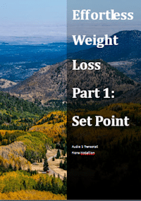 Effortless weight loss set point